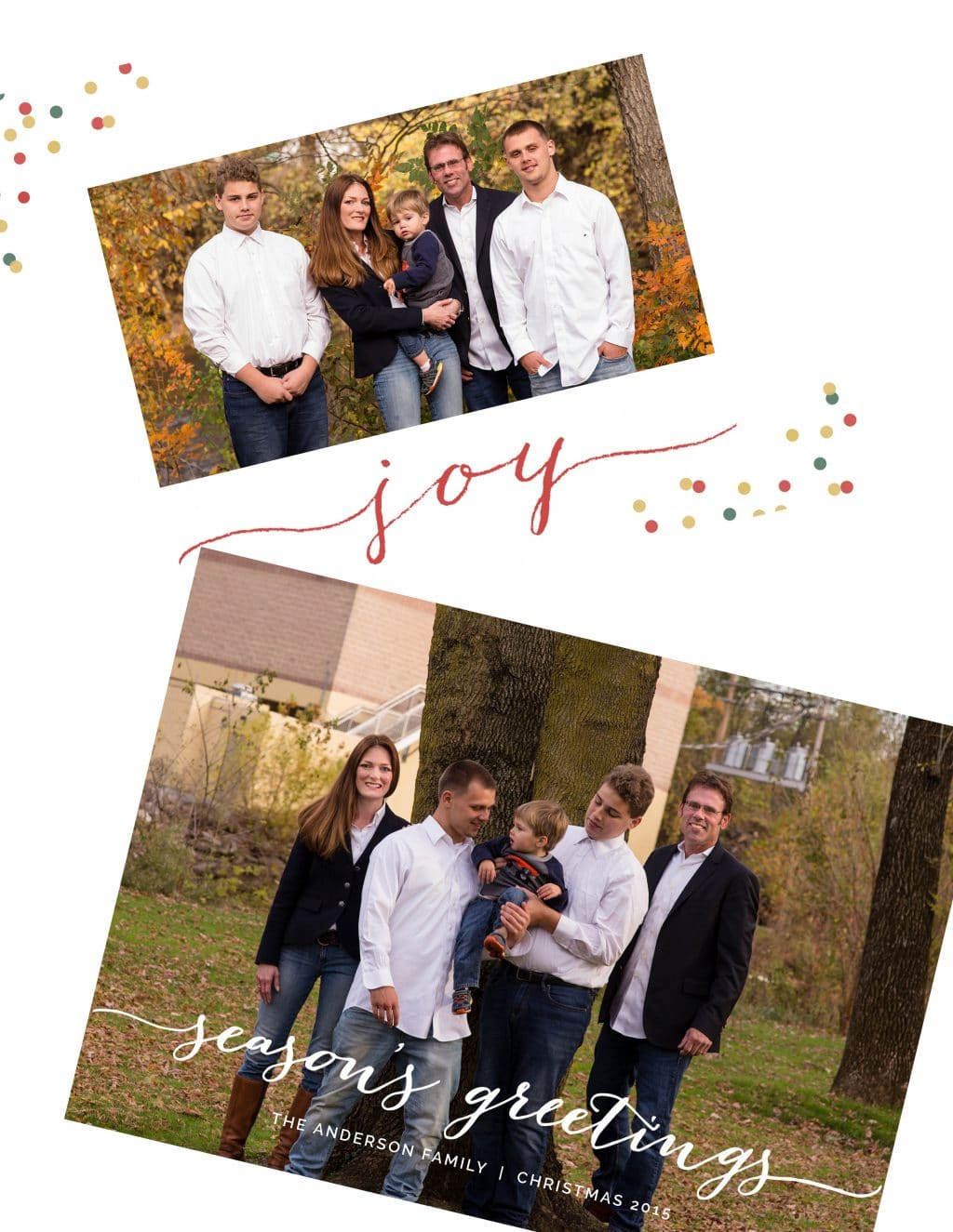 Harrisburg Family Picture Christmas Cards