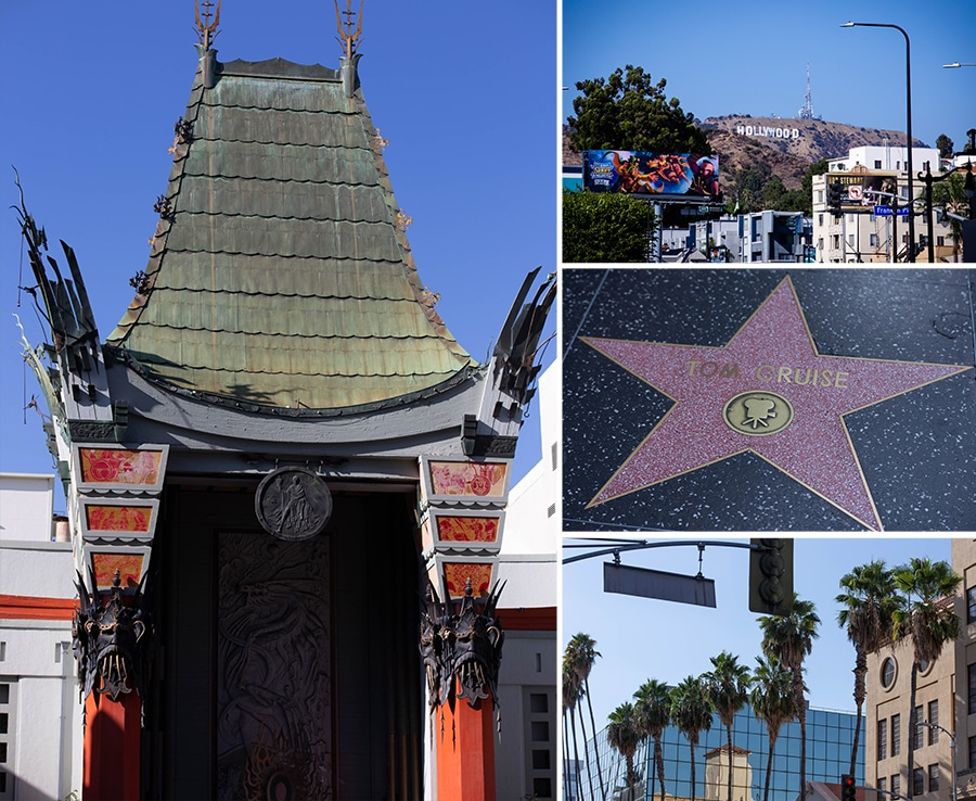 Pictures of Hollywood California
